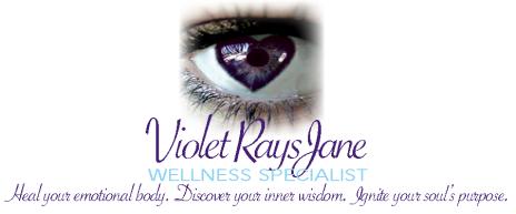 Violet Rays Eye